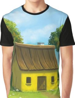 Peaceful yellow house Graphic T-Shirt