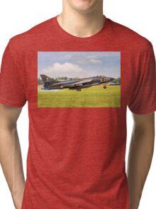 Hawker Hunter F.6A N-294 G-KAXF Tri-blend T-Shirt