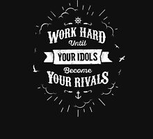 WORK HARD white version Unisex T-Shirt