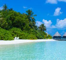 Honeymoon in the Maldives Sticker
