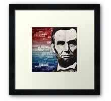 Patriot Abraham Lincoln Framed Print