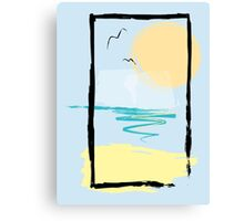 Scene Canvas Print