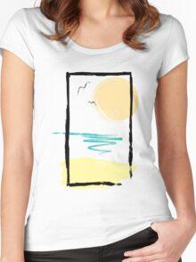 Scene Women's Fitted Scoop T-Shirt