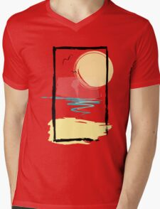 Scene Mens V-Neck T-Shirt