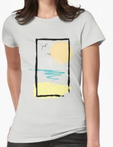 Scene Womens Fitted T-Shirt