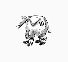 cartoon style football player elephant Unisex T-Shirt