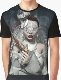 Bride with gun Graphic T-Shirt