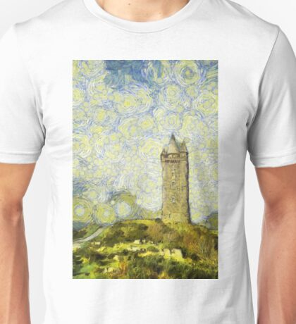 Starry Scrabo Tower Unisex T-Shirt