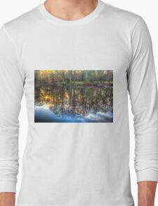 The Morning Pond Reflections Long Sleeve T-Shirt