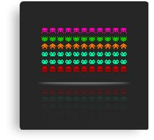 Pixel Invaders : Incoming ! Canvas Print