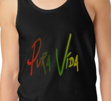 Pura Vida/Pure Life Saying Tank Top