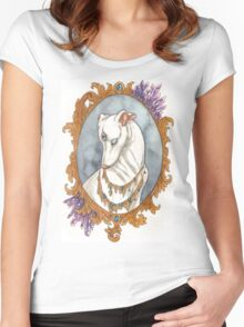 Amethyst Mirror Women's Fitted Scoop T-Shirt