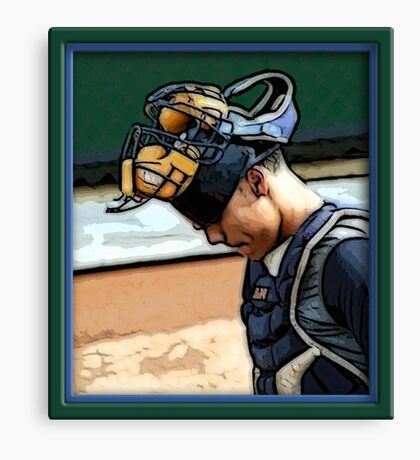 Pre-game Baseball Images #1 Canvas Print