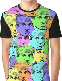 Michael Scott The Office US Prison Mike Graphic T-Shirt