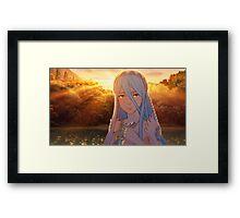 Fire Emblem Fates - Azura / Aqua Framed Print