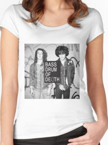 Bass drums of killing Women's Fitted Scoop T-Shirt