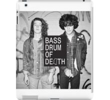 Bass drums of killing iPad Case/Skin