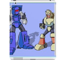 Transformers Pipes and Hubcap iPad Case/Skin
