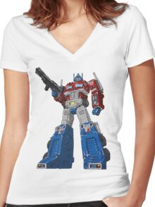 Prime Women's Fitted V-Neck T-Shirt