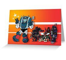 Transformers DJD Greeting Card