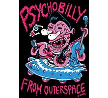 Psychobilly from outerspace Photographic Print