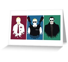 Cornetto Trilogy Greeting Card