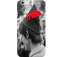Peter Pan's Red Feather iPhone Case/Skin