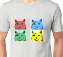 Cats Warhol Unisex T-Shirt
