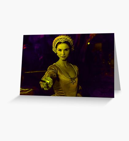 Fantaghirò - The Cave of the Golden Rose Greeting Card