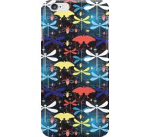 Graphic pattern different insects iPhone Case/Skin
