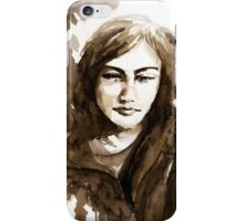 akwarelka 31 iPhone Case/Skin