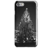 Christmas tree in Borås iPhone Case/Skin
