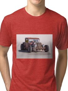 1933 Ford PU Rat Rod Tri-blend T-Shirt