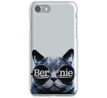 Grey Hip Cat for Bernie iPhone Case/Skin