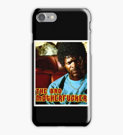 """Pulp Fiction- Jules """"The Bad Motherfucker"""" iPhone Case/Skin"""