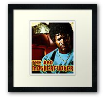 "Pulp Fiction- Jules ""The Bad Motherfucker"" Framed Print"
