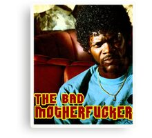 "Pulp Fiction- Jules ""The Bad Motherfucker"" Canvas Print"