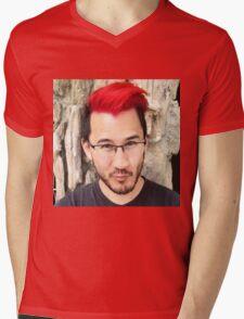 Reddiplier Mens V-Neck T-Shirt