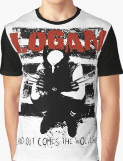 ...And Out Comes The Wolverine Graphic T-Shirt