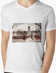 akwarelka 32 Mens V-Neck T-Shirt