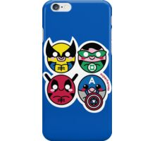 Little Super Heores iPhone Case/Skin