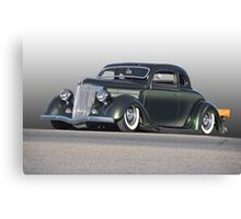 1936 Ford Custom Coupe Canvas Print