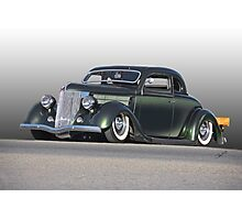 1936 Ford Custom Coupe Photographic Print