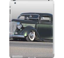 1936 Ford Custom Coupe iPad Case/Skin