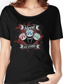 Blood & Ice Cream - Colour Women's Relaxed Fit T-Shirt