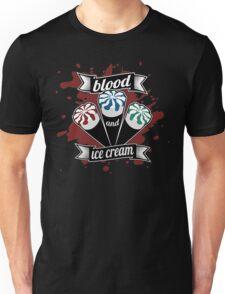 Blood & Ice Cream - Colour Unisex T-Shirt