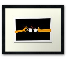 Murder At Tea Time Framed Print