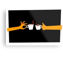 Murder At Tea Time Metal Print
