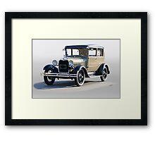1928 Ford Tudor Sedan Framed Print