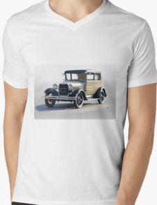 1928 Ford Tudor Sedan Mens V-Neck T-Shirt